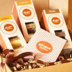 Ginger bakers box cakes